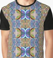 Blooms and Butterflies Graphic T-Shirt