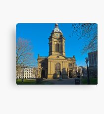 St Philips, Birmingham Cathedral, England, UK Canvas Print