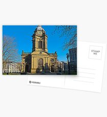 St Philips, Birmingham Cathedral, England, UK Postcards