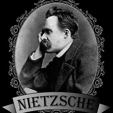 Friedrich Nietzsche Portrait by JacknightW