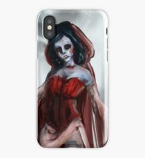 Ghoulish Dame iPhone Case