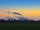 Drax power station at dusk by GrahamCSmith