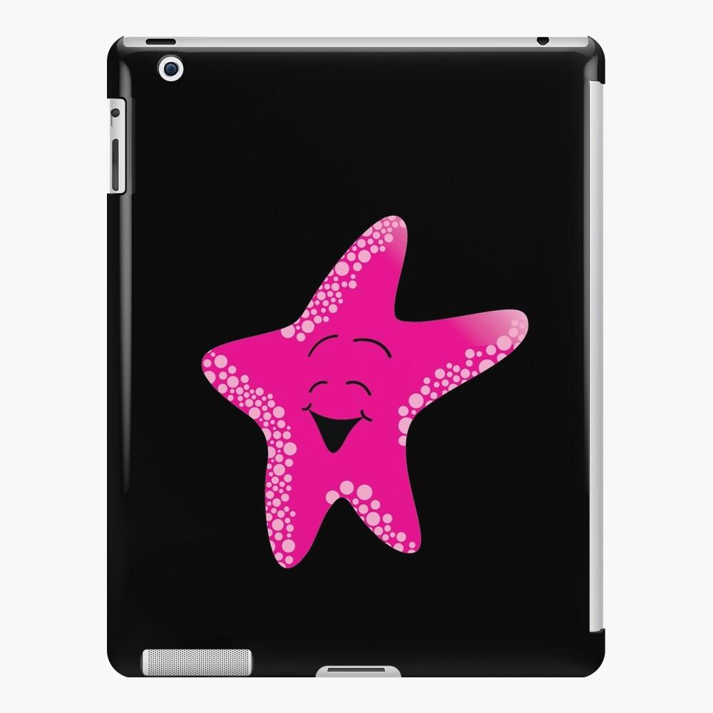 Red Starfish Cartoon iPad-Hülle & Skin