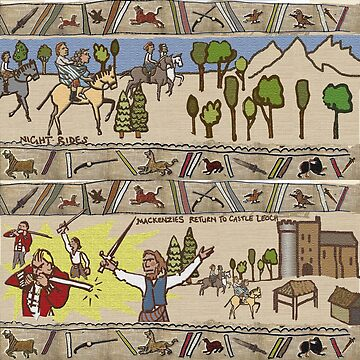 Part 4 of Outlandish Panels (Gabeaux Tapestry) by jennyjeffries