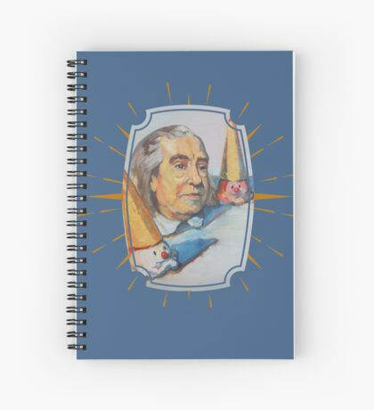 Jeremy Bentham Spiral Notebook