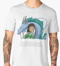 Spirited Away Chihiro and Haku-Studio Ghibli Men's Premium T-Shirt