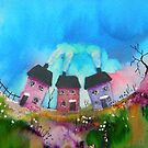 Cosy Cottages by FrancesArt