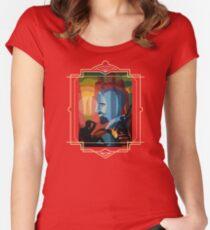 WEB Du Bois Women's Fitted Scoop T-Shirt
