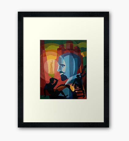 WEB Du Bois Framed Print