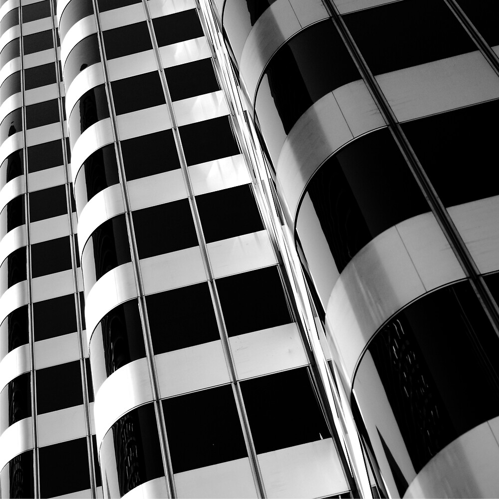 GLASS AND STEEL TOWER by Thomas Barker-Detwiler