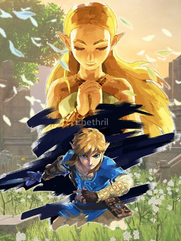 Die Legende von Zelda: Atem der Wildnis von Lhethril