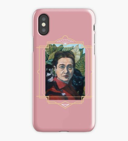 Simone de Beauvoir iPhone Case