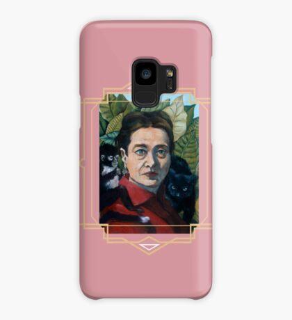 Simone de Beauvoir Case/Skin for Samsung Galaxy