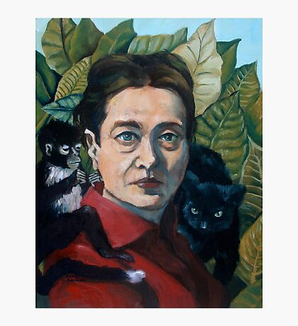 Simone de Beauvoir Photographic Print