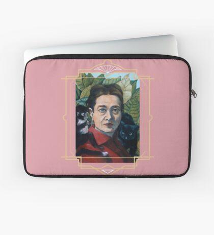 Simone de Beauvoir Laptop Sleeve