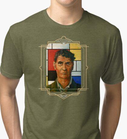 Ludwig Wittgenstein Tri-blend T-Shirt