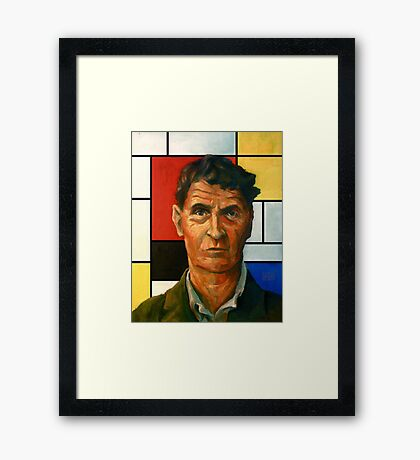 Ludwig Wittgenstein Framed Print