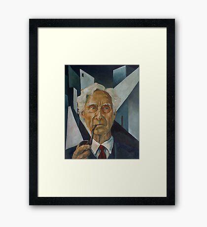 Bertrand Russell Framed Print