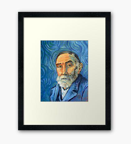 Gottlob Frege  Framed Print