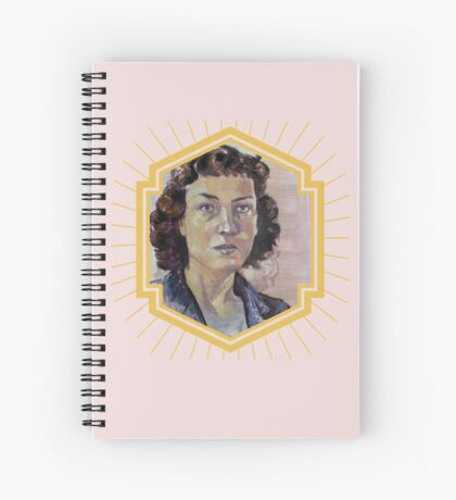 Phillipa Foot Spiral Notebook