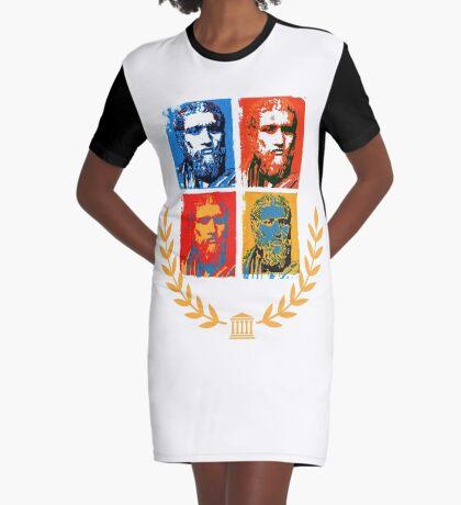 Plato Graphic T-Shirt Dress