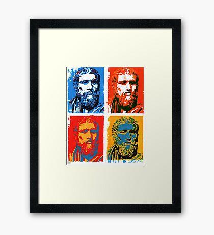 Plato Framed Print