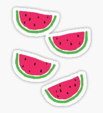 A Little Watermelon Sticker