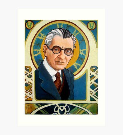 Kurt Gödel Art Print