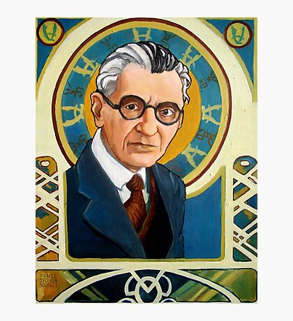 Kurt Gödel Photographic Print