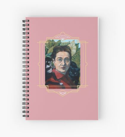 Simone de Beauvoir Spiral Notebook