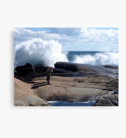 Bursting Waves Canvas Print