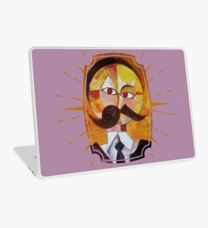 Friedrich Nietzsche Laptop Skin