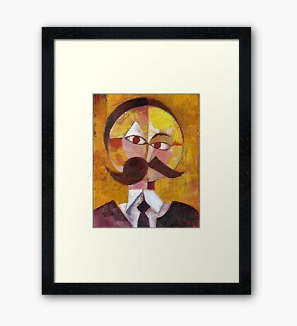 Friedrich Nietzsche Framed Print