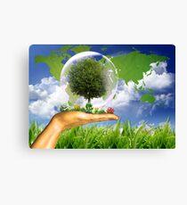 Ecologie Canvas Print