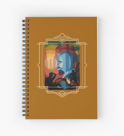 WEB Du Bois Spiral Notebook