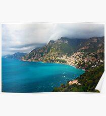 Amalfi Coastline Poster