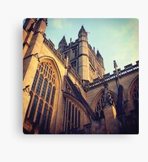Bath Abbey Canvas Print