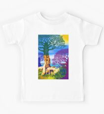 If A Tree Falls In Sicily Color 1 Kids Tee