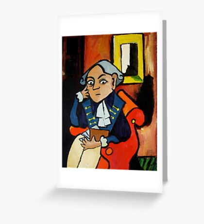 Kant Greeting Card