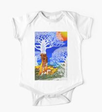 If A Tree Falls In Sicily White One Piece - Short Sleeve