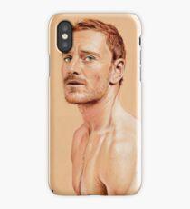Michael Fassbender iPhone Case/Skin
