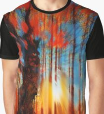 Forrest And Light Large Graphic T-Shirt