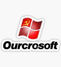 Ourcrosoft Sticker