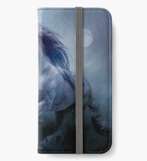 Running With The Moon iPhone Wallet/Case/Skin