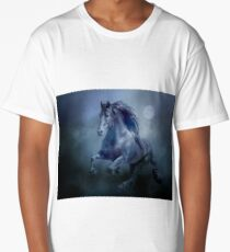 Running With The Moon Long T-Shirt