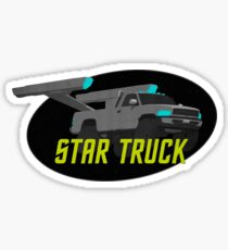 Star Truck! Sticker