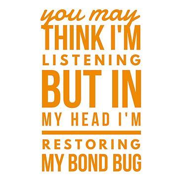 In my head; Bond Bug by Amisdelamer