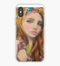 Lana Del Rey Star Celebrity Fantasy Art iPhone Case