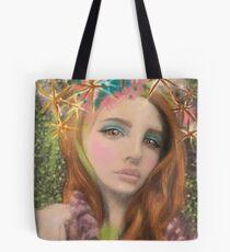Lana Del Rey Star Celebrity Fantasy Art Tote Bag