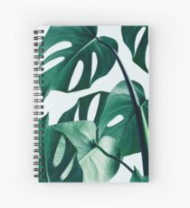 Monstera #redbubble #Artdrucken Spiralblock